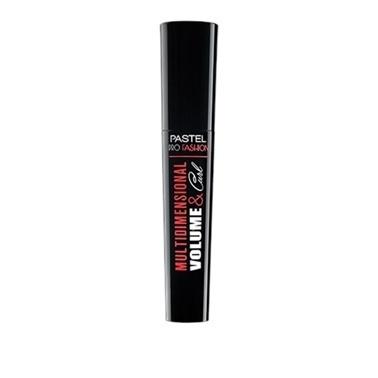 Pastel Pastel Multıdımensıonal Volume & Curl Mascara Siyah Siyah